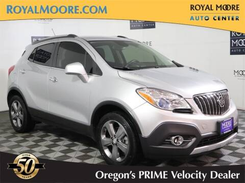 2013 Buick Encore for sale at Royal Moore Custom Finance in Hillsboro OR