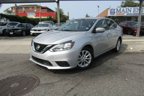2019 Nissan Sentra for sale at MIKEY AUTO INC in Hollis NY