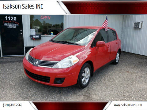 2007 Nissan Versa for sale at Isakson Sales INC in Waite Park MN