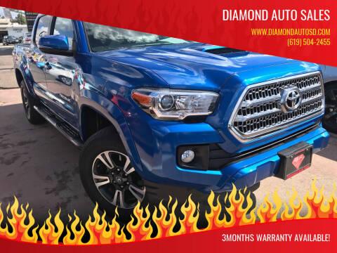 2016 Toyota Tacoma for sale at DIAMOND AUTO SALES in El Cajon CA