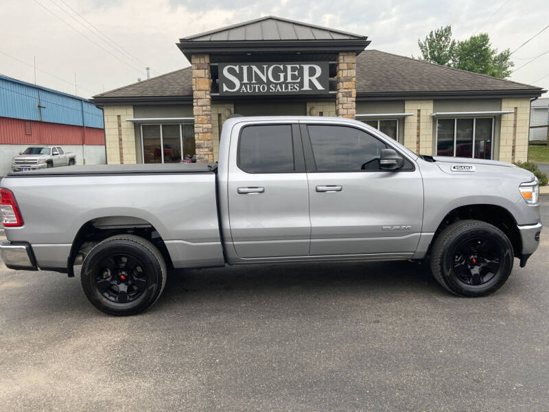 2021 RAM Ram Pickup 1500 for sale at Singer Auto Sales in Caldwell OH