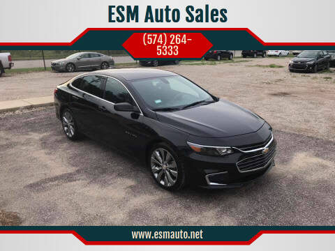 2018 Chevrolet Malibu for sale at ESM Auto Sales in Elkhart IN
