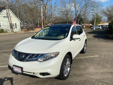2011 Nissan Murano for sale at Hilton Motors Inc. in Newport News VA
