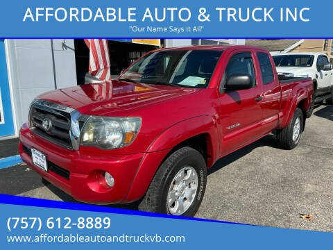 2010 Toyota Tacoma for sale at AFFORDABLE AUTO & TRUCK INC in Virginia Beach VA