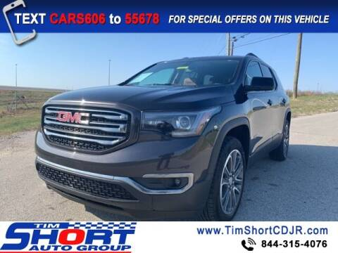 2017 GMC Acadia for sale at Tim Short Chrysler in Morehead KY