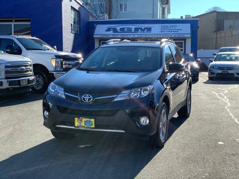 2015 Toyota RAV4 for sale at AGM AUTO SALES in Malden MA
