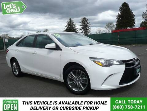 2015 Toyota Camry for sale at Shamrock Motors in East Windsor CT