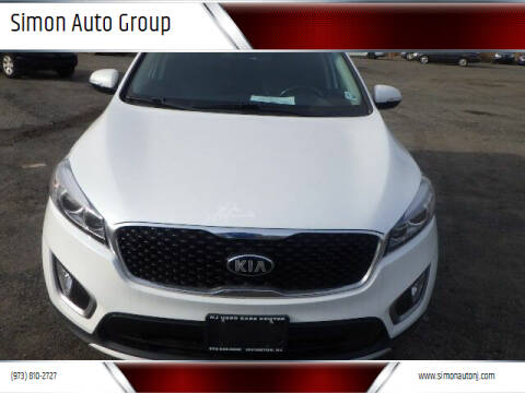 2016 Kia Sorento for sale at Simon Auto Group in Newark NJ