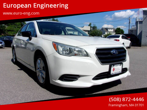 2016 Subaru Legacy for sale at European Engineering in Framingham MA