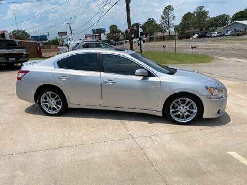 2010 Nissan Maxima for sale at Preferred Auto Sales in Tyler TX