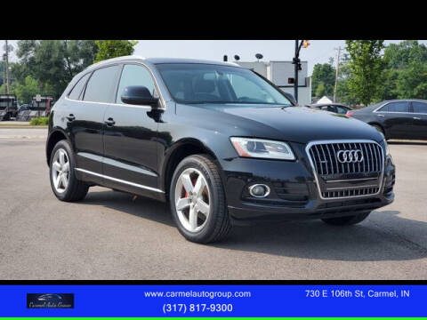 2014 Audi Q5 for sale at Carmel Auto Group in Indianapolis IN