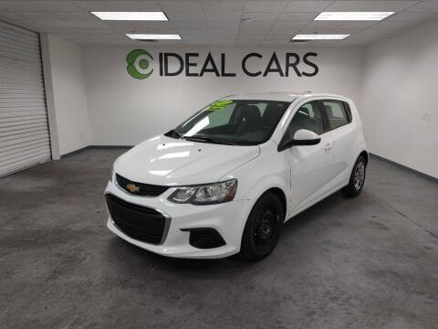 2017 Chevrolet Sonic for sale at Ideal Cars Apache Junction in Apache Junction AZ