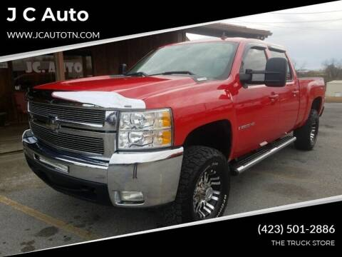 2007 Chevrolet Silverado 2500HD for sale at J C Auto in Johnson City TN