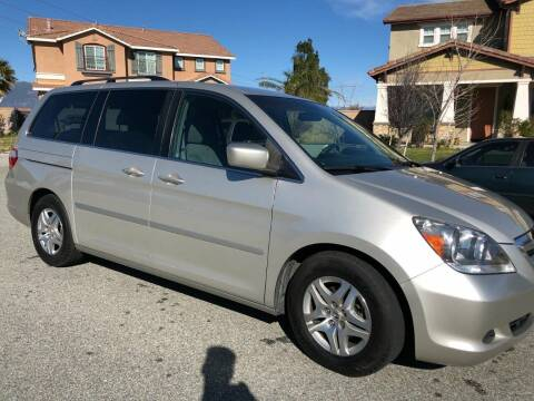 2006 Honda Odyssey for sale at E and M Auto Sales in Bloomington CA
