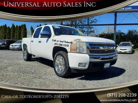 2009 Chevrolet Silverado 1500 for sale at Universal Auto Sales Inc in Salem OR