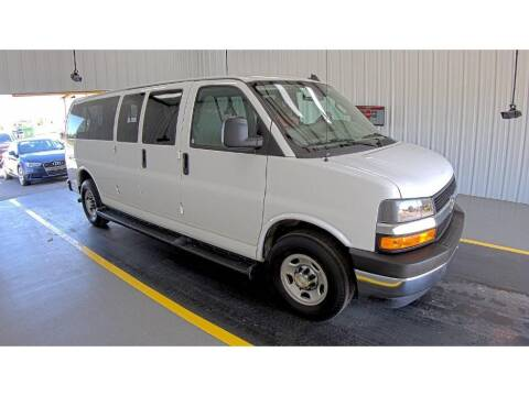 2020 Chevrolet Express Passenger for sale at Apple Auto in La Crescent MN