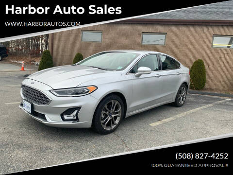 2019 Ford Fusion for sale at Harbor Auto Sales in Hyannis MA