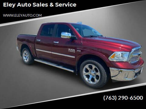 2016 RAM Ram Pickup 1500 for sale at Eley Auto Sales & Service in Loretto MN