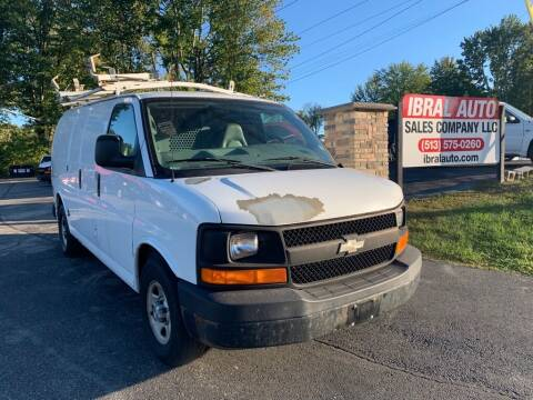 2008 Chevrolet Express Cargo for sale at Ibral Auto in Milford OH