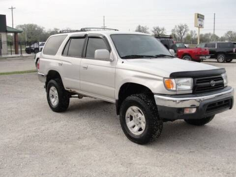 1999 Toyota 4Runner for sale at Frieling Auto Sales in Manhattan KS