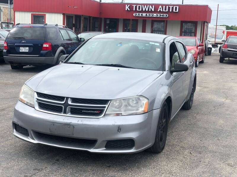 2013 Dodge Avenger for sale at K Town Auto in Killeen TX