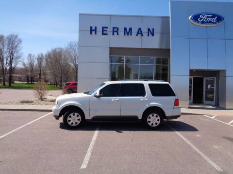 2004 Lincoln Aviator for sale at Herman Motors in Luverne MN