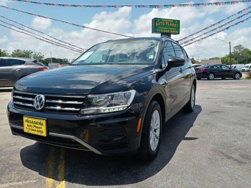 2018 Volkswagen Tiguan for sale at Pasadena Auto Planet in Houston TX