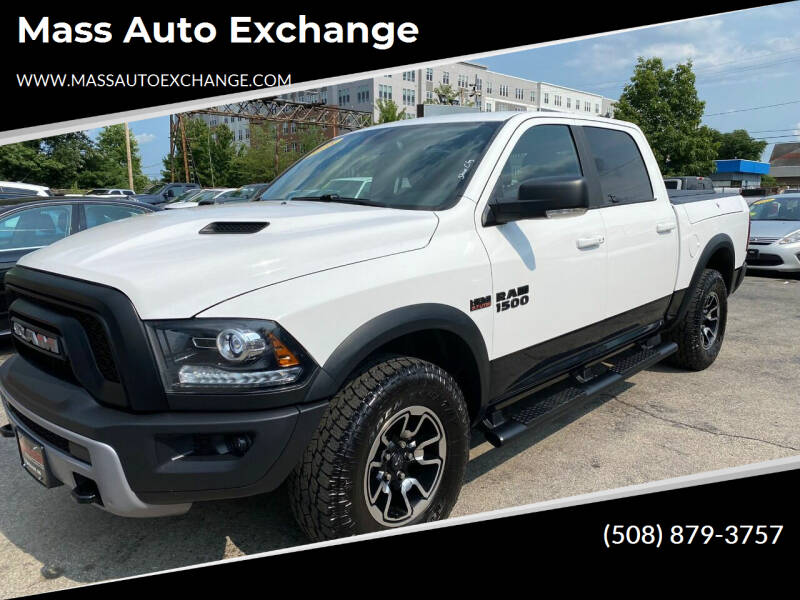 2016 RAM Ram Pickup 1500 for sale at Mass Auto Exchange in Framingham MA