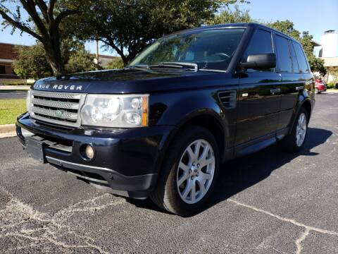 2009 Land Rover Range Rover Sport for sale at ZNM Motors in Irving TX