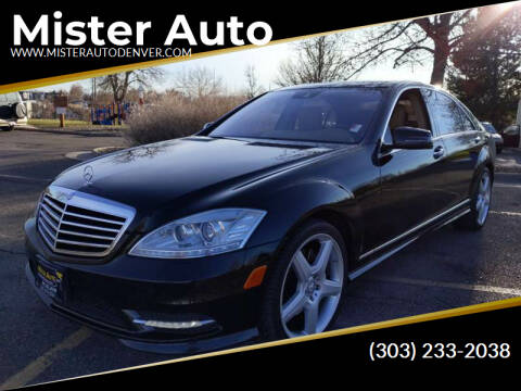 2011 Mercedes-Benz S-Class for sale at Mister Auto in Lakewood CO