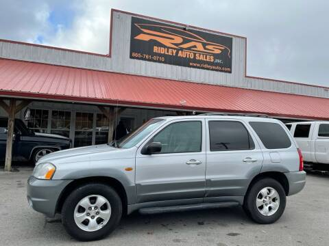2001 Mazda Tribute for sale at Ridley Auto Sales, Inc. in White Pine TN
