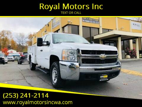 2007 Chevrolet Silverado 2500HD for sale at Royal Motors Inc in Kent WA