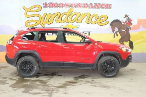 2019 Jeep Cherokee for sale at Sundance Chevrolet in Grand Ledge MI