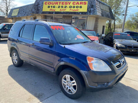 2002 Honda CR-V for sale at Courtesy Cars in Independence MO