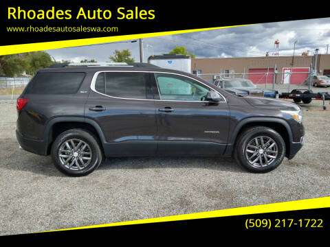 2018 GMC Acadia for sale at Rhoades Auto Sales in Spokane Valley WA