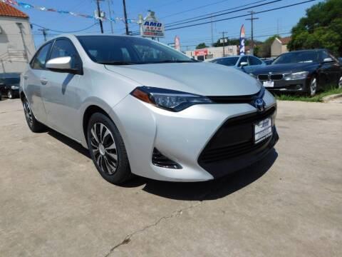 2019 Toyota Corolla for sale at AMD AUTO in San Antonio TX