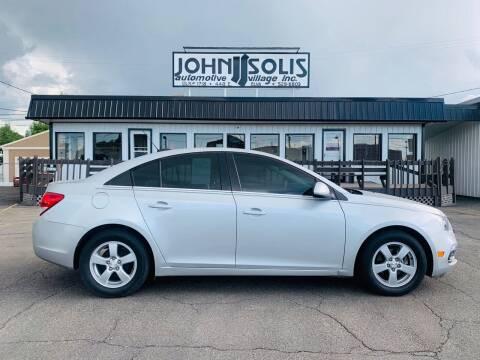 2015 Chevrolet Cruze for sale at John Solis Automotive Village in Idaho Falls ID