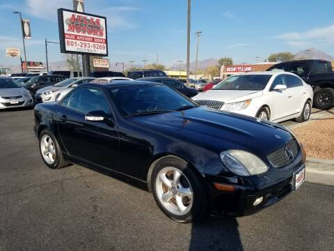 2003 Mercedes-Benz SLK for sale at ATLAS MOTORS INC in Salt Lake City UT