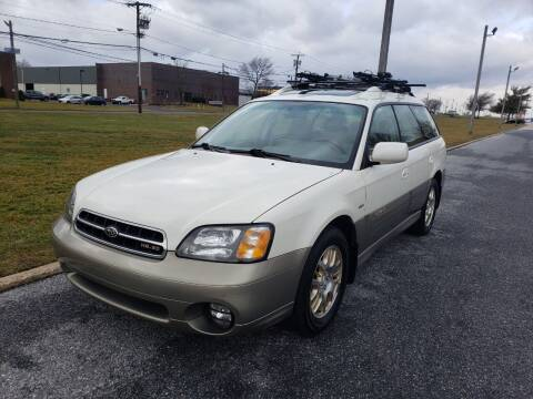 2001 Subaru Outback for sale at DISTINCT IMPORTS in Cinnaminson NJ