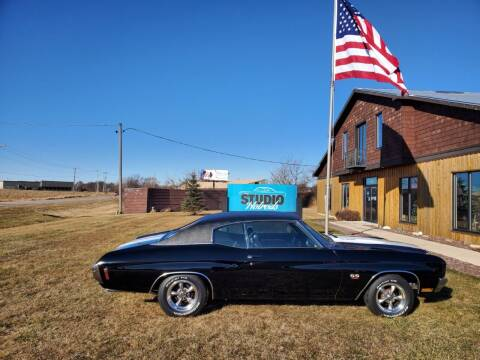 1970 Chevrolet Chevelle for sale at Studio Hotrods in Richmond IL