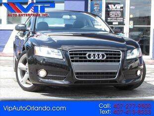 2011 Audi A5 for sale at VIP AUTO ENTERPRISE INC. in Orlando FL
