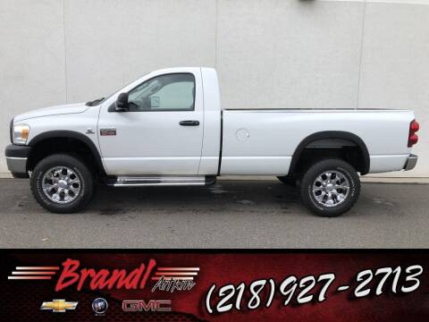 2007 Dodge Ram Pickup 2500 for sale at Brandl GM in Aitkin MN