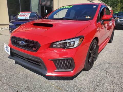 2018 Subaru WRX for sale at Auto Wholesalers Of Hooksett in Hooksett NH