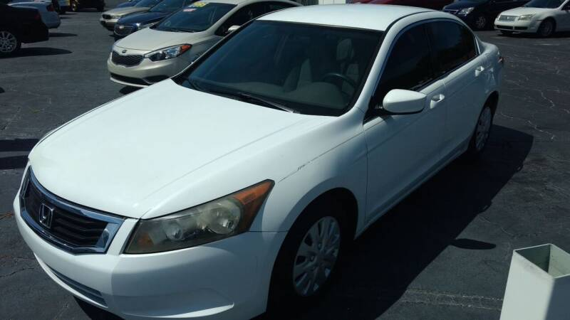 2008 Honda Accord for sale at AFFORDABLE AUTO SALES in We Finance Everyone! FL