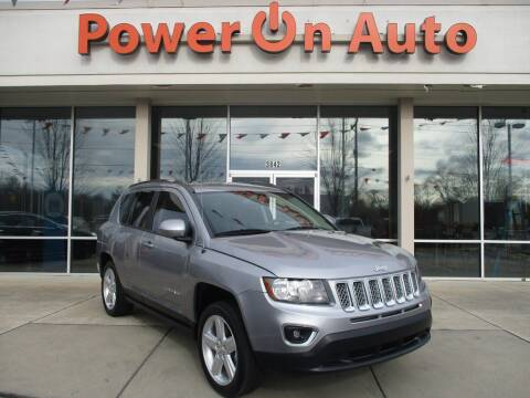 2014 Jeep Compass for sale at Power On Auto LLC in Monroe NC
