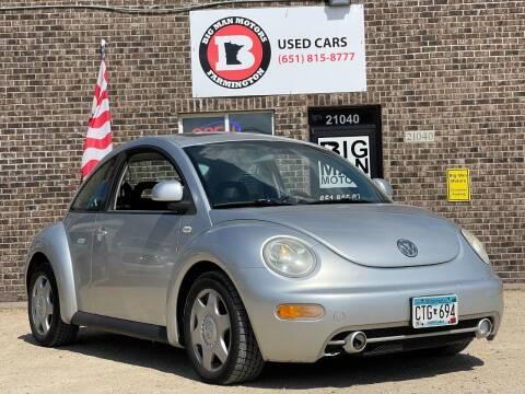 2000 Volkswagen New Beetle for sale at Big Man Motors in Farmington MN