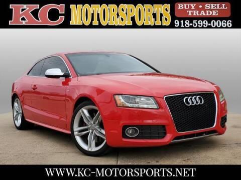 2010 Audi S5 for sale at KC MOTORSPORTS in Tulsa OK