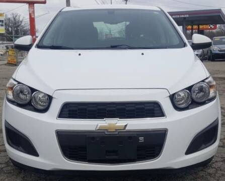 2015 Chevrolet Sonic for sale at Nile Auto in Columbus OH