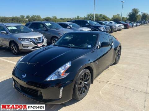 2017 Nissan 370Z for sale at Meador Dodge Chrysler Jeep RAM in Fort Worth TX