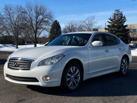 2013 Infiniti M37 for sale at North Imports LLC in Burnsville MN